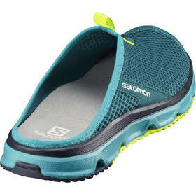 Salomon W's RX Slide 3.0 Shoes Deep Lagoon/Blue Bird/Safety Yellow